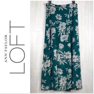 Ann Taylor Loft Full Length Skirt